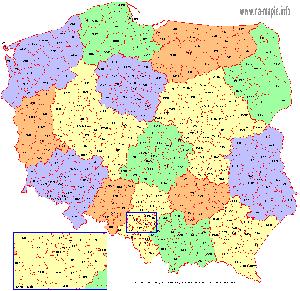 Vehicle registration plates of Poland